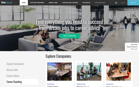 The Muse | Expert Career Advice, Job Search & Inside Looks Into Companies Hiring