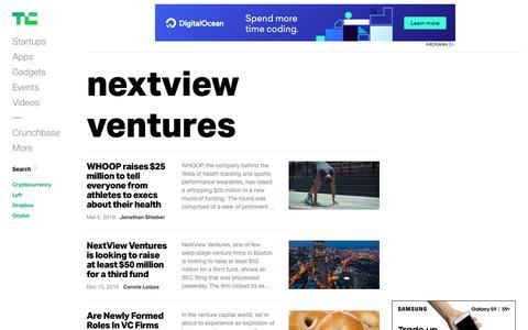 nextview ventures | TechCrunch