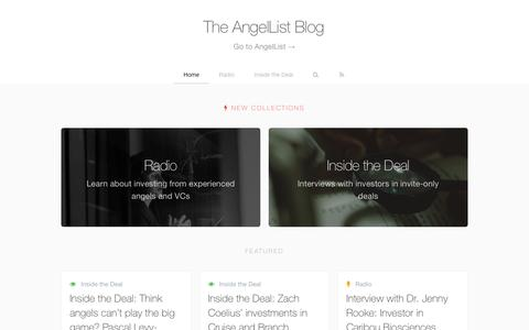 The AngelList Blog