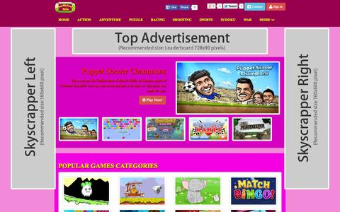 Screenshot of Home Page superplaygames.com - superplaygames.com  | superplaygames.com - Online Play Super Games Station - captured Aug. 16, 2015