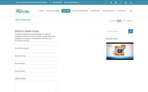 Dealer Application - Senville