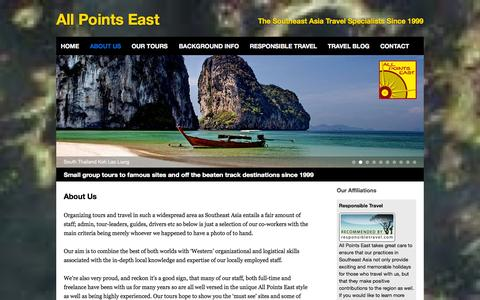 Screenshot of About Page allpointseast.com - About us - All Points East - captured Sept. 30, 2014