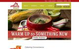 Old Screenshot Atlanta Bread Company Home Page