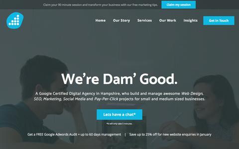 Damteq   Web Design & Marketing   Digital Agency in Fareham