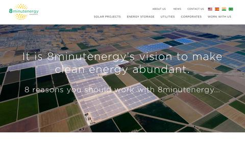 Screenshot of About Page 8minutenergy.com - 8minutenergy | 8 Reasons You Should Work With 8minutenergy - captured Oct. 25, 2017