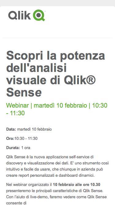 Scopri la potenza dell'analisi visuale di Qlik® Sense -