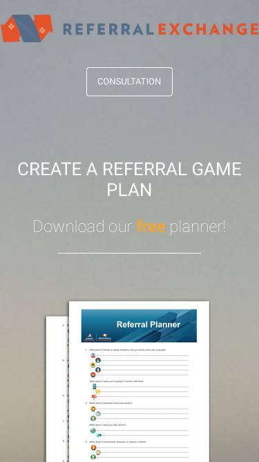 Referral Planner - ReferralExchange