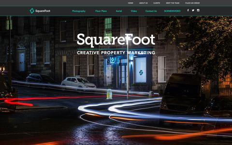 Screenshot of About Page squarefootmedia.co.uk - SquareFoot - Leading Provider of Photos, Floor Plans & Aerial Imagery - captured Sept. 21, 2018
