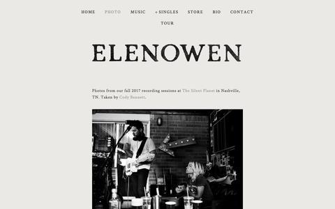 Screenshot of Press Page elenowen.com - Photo — - captured Feb. 21, 2018
