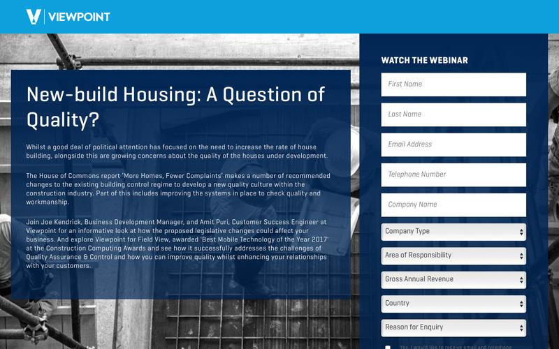 New-build Housing: A Question of Quality?