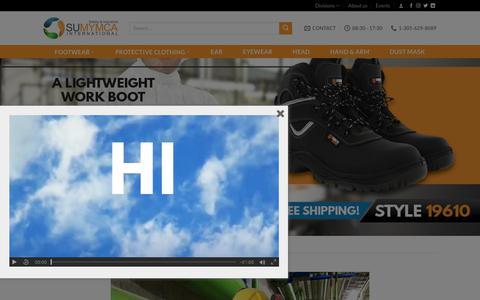 Screenshot of Home Page sumymcainternational.com - Sumymca International – Store - captured Sept. 21, 2018