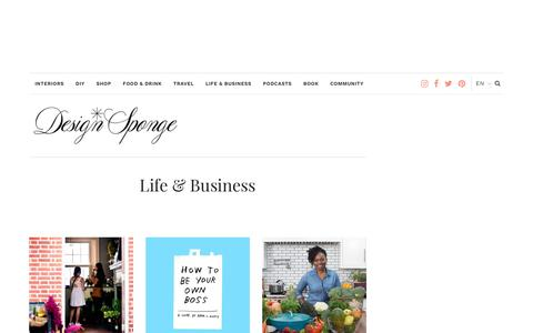 Life & Business – Design*Sponge