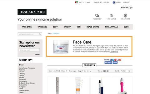 Skincare Products Dubai Abu Dhabi UAE
