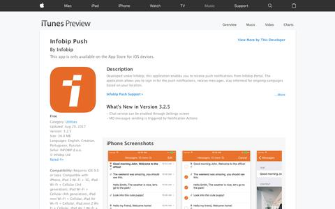Infobip Push on the App Store