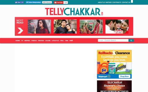 Screenshot of Signup Page tellychakkar.com - User account | Tellychakkar.com - captured Aug. 26, 2019