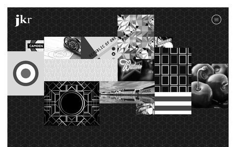 Screenshot of Home Page jkrglobal.com - jkr – Global Design Agency - captured Sept. 19, 2014