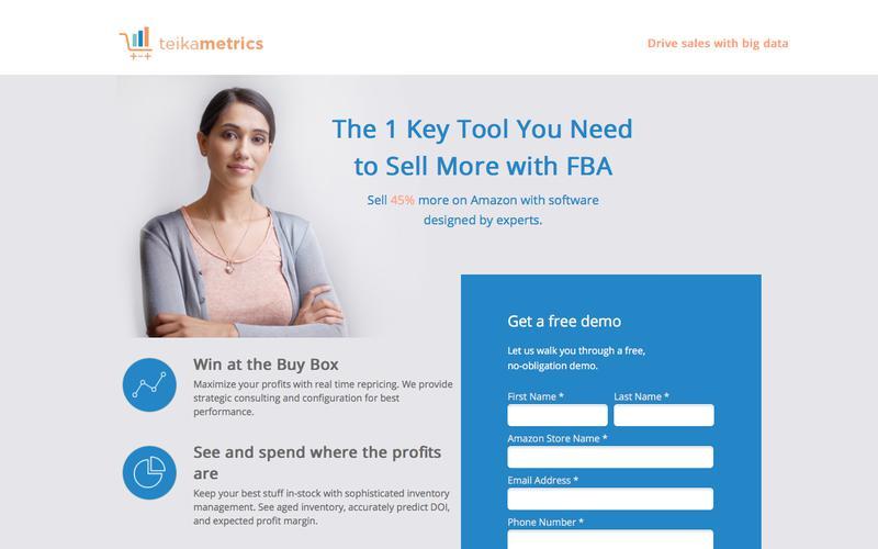 Teikametrics - Drives Sales with Big Data