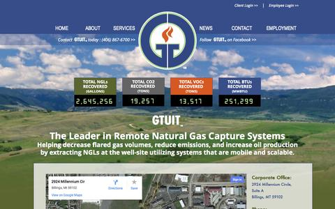 Screenshot of Contact Page gtuit.com - GTUIT - captured Oct. 1, 2014