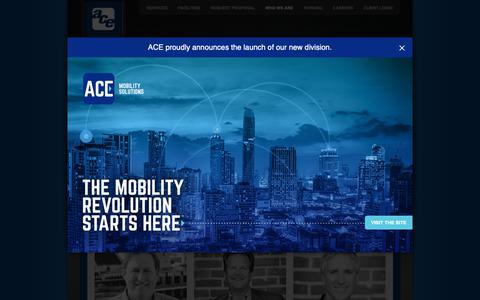 Screenshot of Team Page aceparking.com - Executive Team | Ace Parking Management | Ace Parking Management, Inc. - captured Feb. 12, 2019