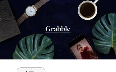 Grabble — Live the stylish life.