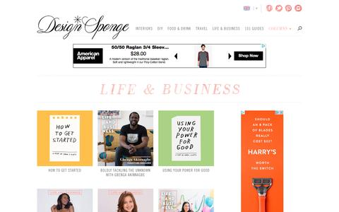 Life & Business | Design*Sponge