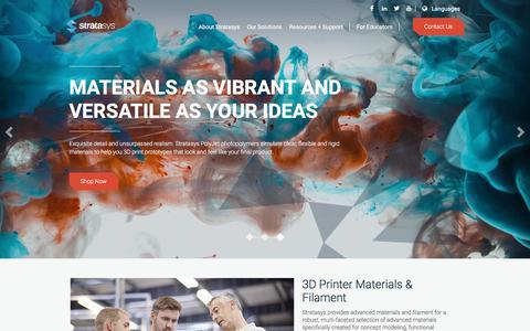 3D Printing Materials & Supplies | Stratasys
