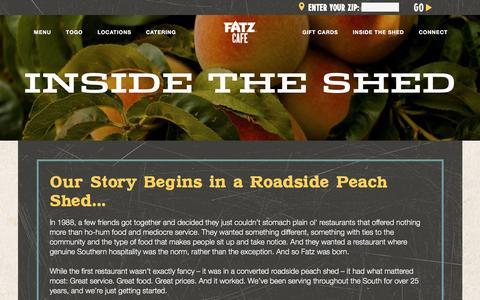 Screenshot of Press Page Jobs Page fatz.com - Fatz Cafe - About, Careers, News - captured Nov. 24, 2016