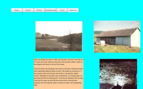 Screenshot of About Page atthehermitage.org - About us - captured Dec. 3, 2018