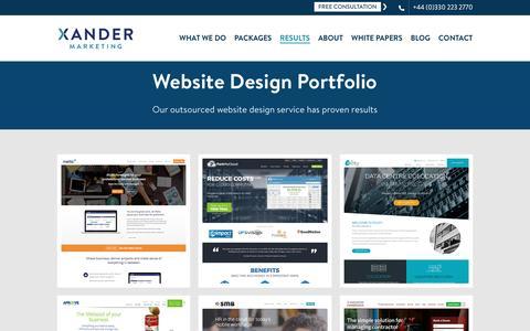 Website Design Archives - Xander Marketing