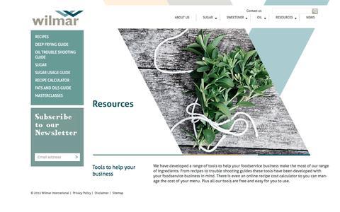 Screenshot of Login Page wilmarfoods.com.au - Foodservice resources - captured Aug. 4, 2015