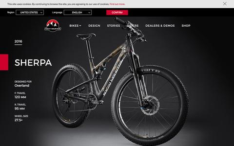Sherpa | Rocky Mountain Bicycles