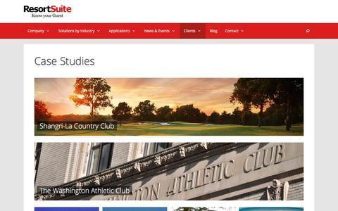 Case Studies | ResortSuite