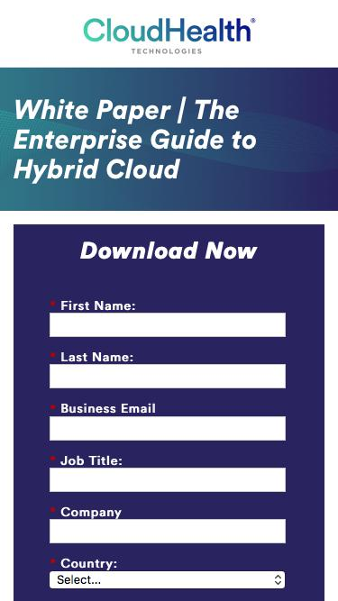 White Paper | The Enterprise Guide to Hybrid Cloud