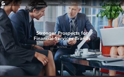 FInancial Services | GoodData