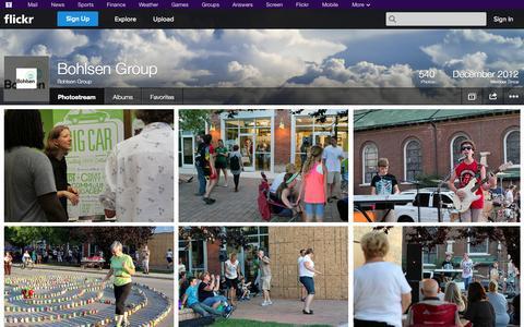 Screenshot of Flickr Page flickr.com - Flickr: Bohlsen Group's Photostream - captured Oct. 23, 2014