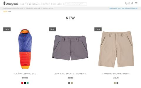 New – Cotopaxi - Gear For Good