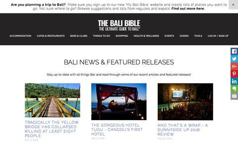 NEWS - The Bali Bible