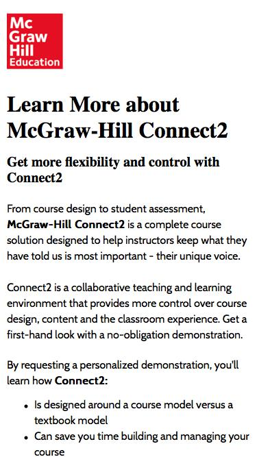 Connect2 | McGraw-Hill Education