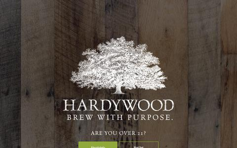 Screenshot of Team Page hardywood.com - Meet The Team | Hardywood - captured Sept. 27, 2018
