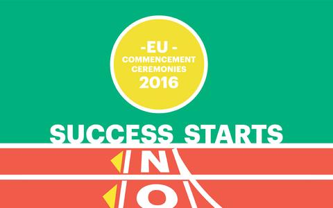 Screenshot of Landing Page euruni.edu - Come and join us at the EU Commencement Ceremonies - captured Oct. 13, 2016