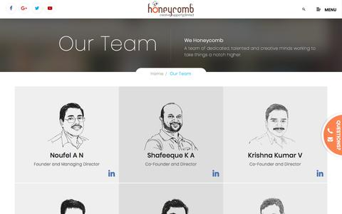Honeycomb Creative support-Team
