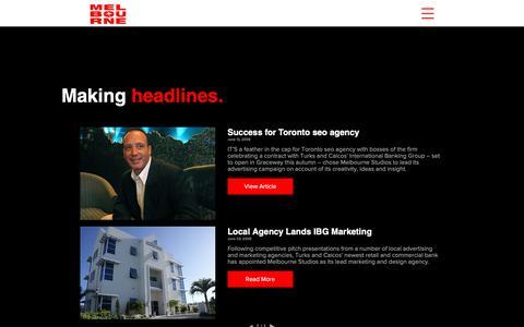 Screenshot of Press Page torontoseoagency.com - Best Toronto Seo Agency Press | Ontario | Melbourne - captured Nov. 4, 2018