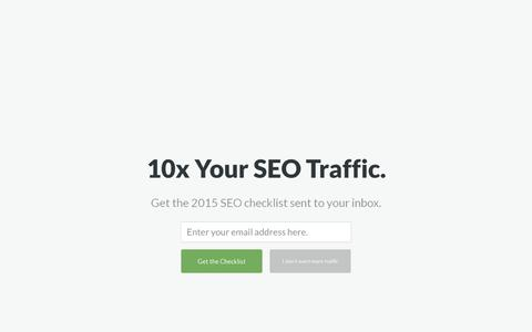 Screenshot of Home Page clickminded.com - SEO Training: The ClickMinded SEO Course - captured Dec. 7, 2015