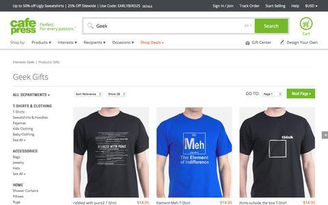 Geek Gifts & Merchandise   Geek Gift Ideas & Apparel - CafePress
