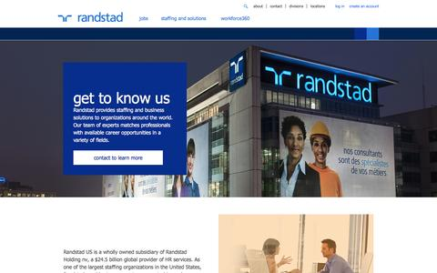 About Us: History, Mission, Values, and More  | Randstad USA