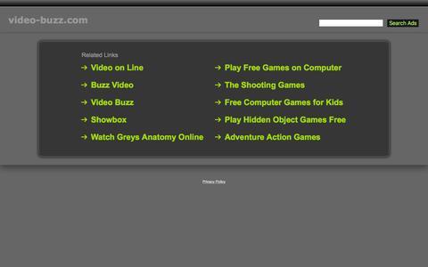 Screenshot of Home Page video-buzz.com - Video-Buzz.com - captured Feb. 29, 2016