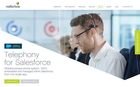 Global cloud phone system & contact centre fully native in Salesforce