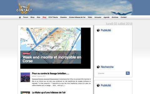 Screenshot of Blog pnc-contact.com - PNC Contact  – Blog - captured July 2, 2018