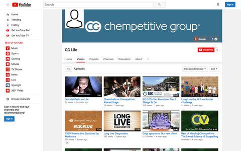 CG Life  - YouTube