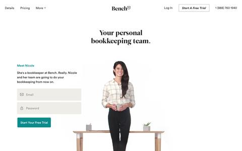 Bench — Online Bookkeeping for Your Small Business